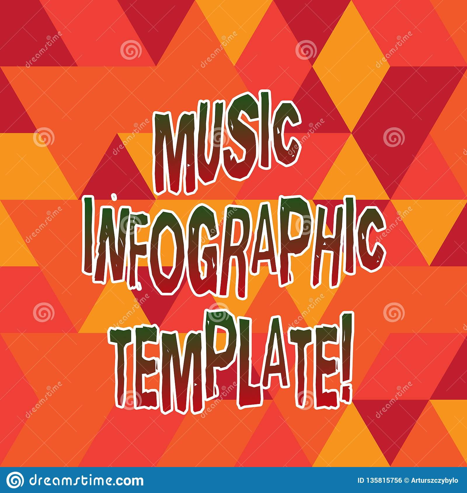 Word Writing Text Music Infographic Template  Business
