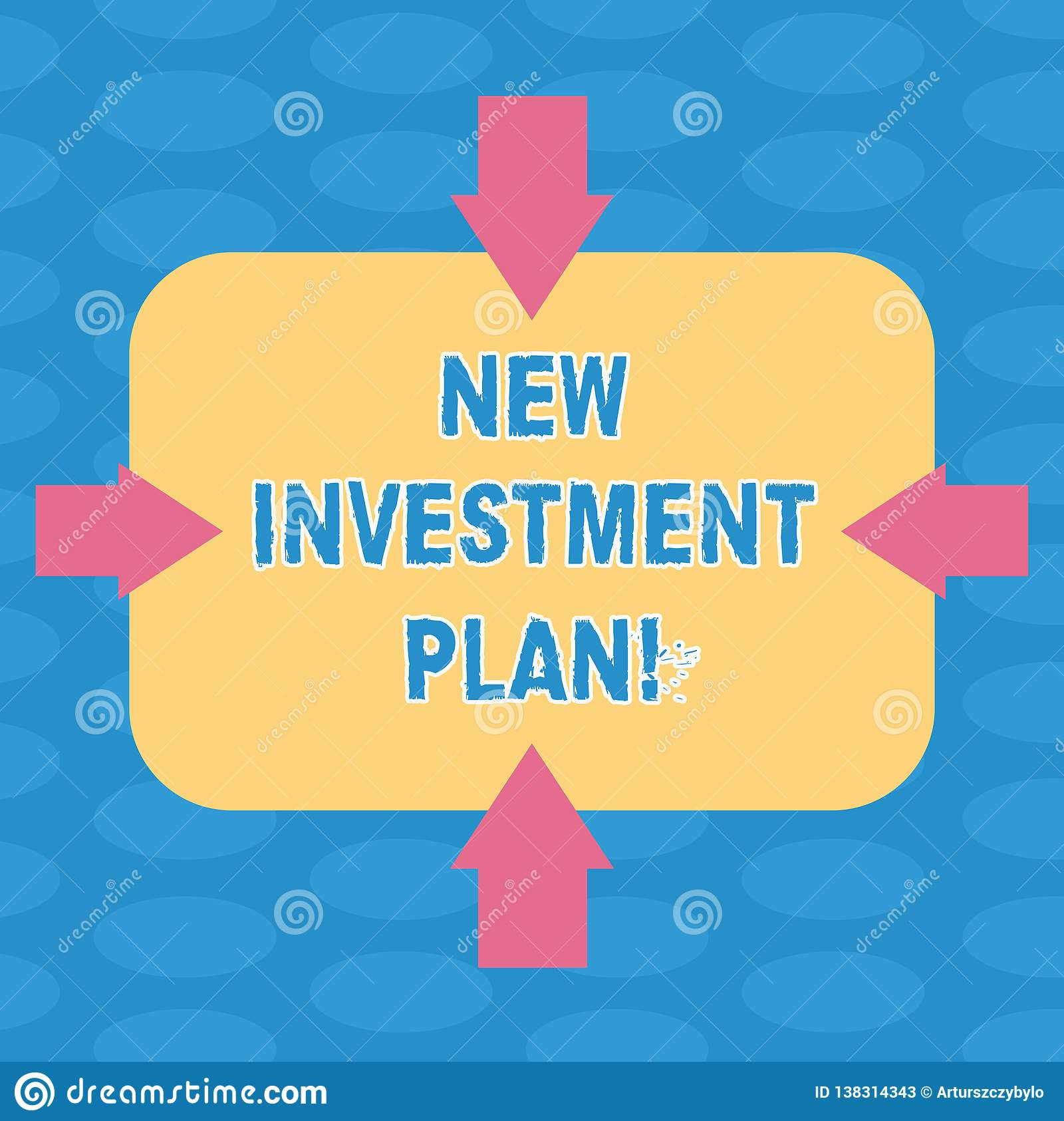 33fcc1a32099f Word Writing Text New Investment Plan. Business Concept For ...