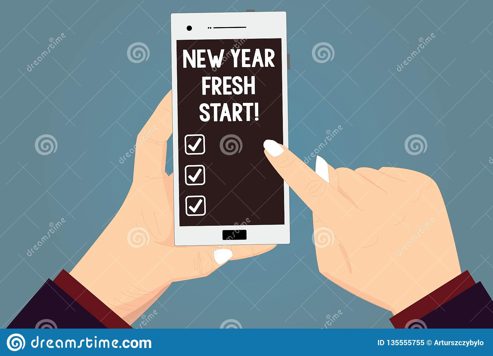 Word writing text New Year Fresh Start. Business concept for Motivation inspiration 365 days full of opportunities Hu