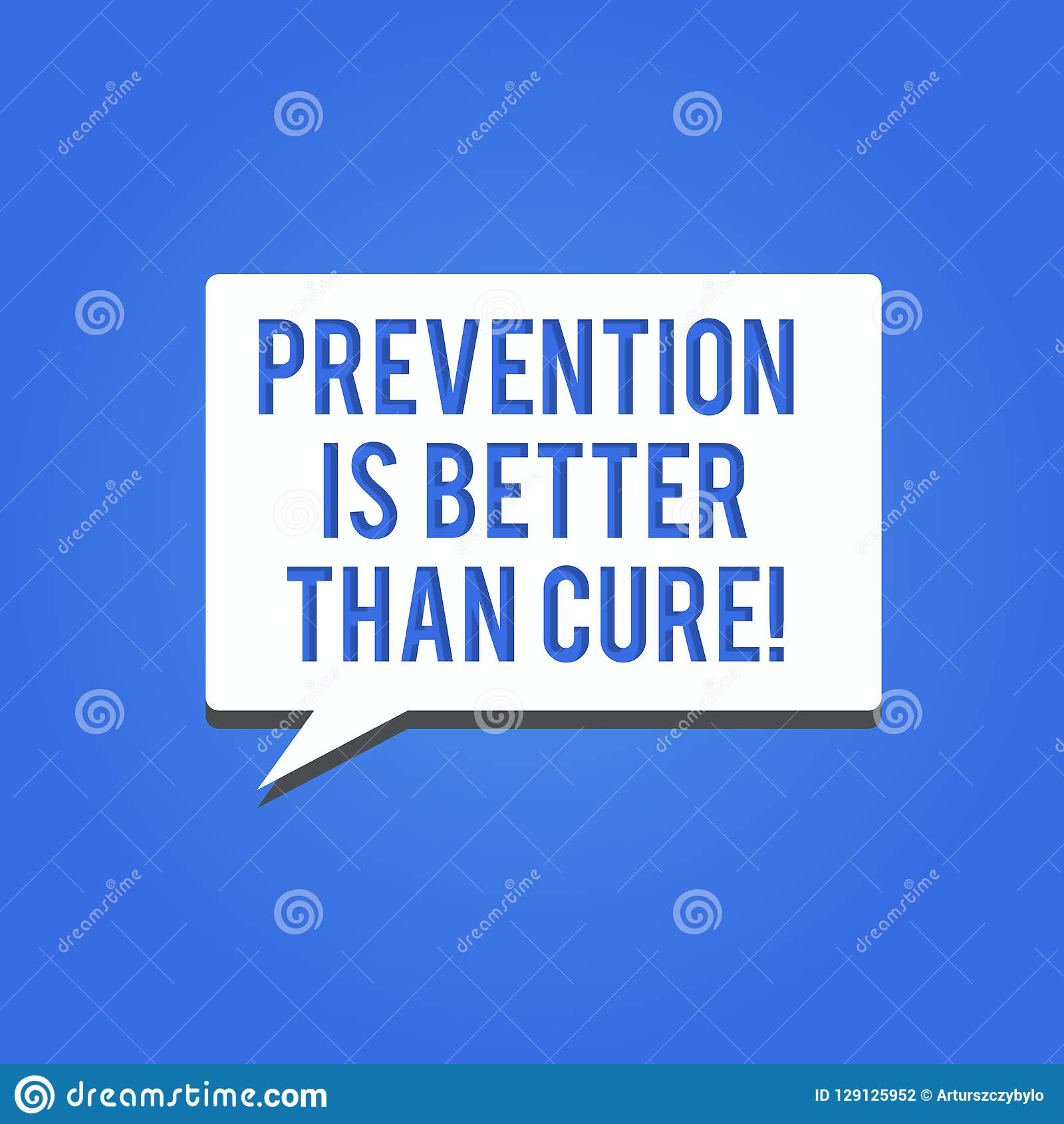 prevention is better than precaution