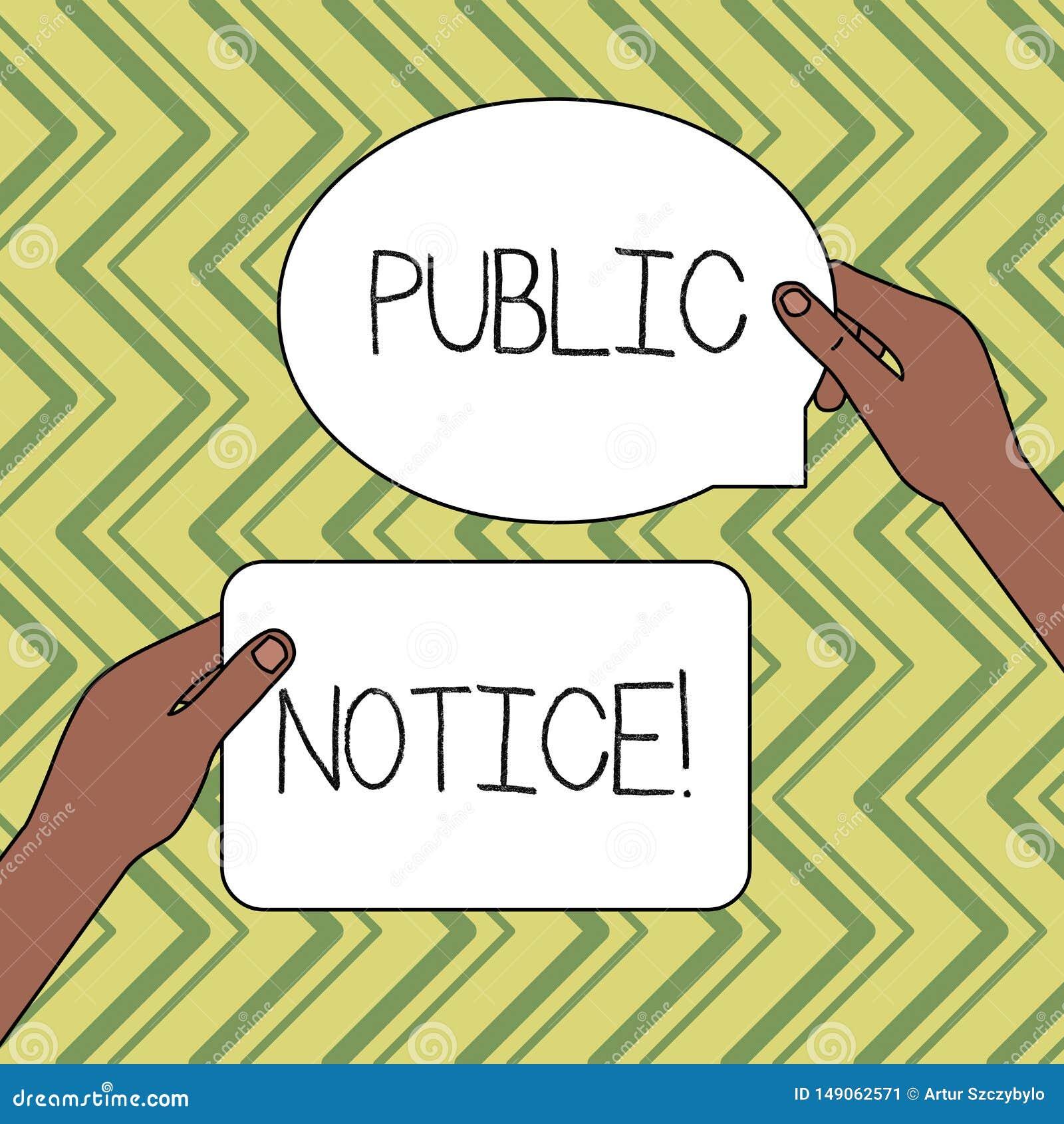 Public Notice Stock Illustrations – 5,084 Public Notice Stock  Illustrations, Vectors & Clipart - Dreamstime