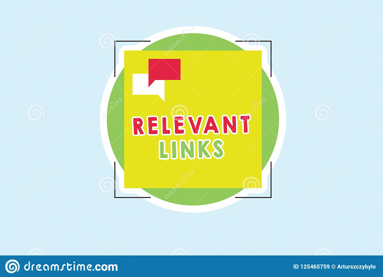 Word writing text Relevant Links. Business concept for Significant sites for a particular topic Associated