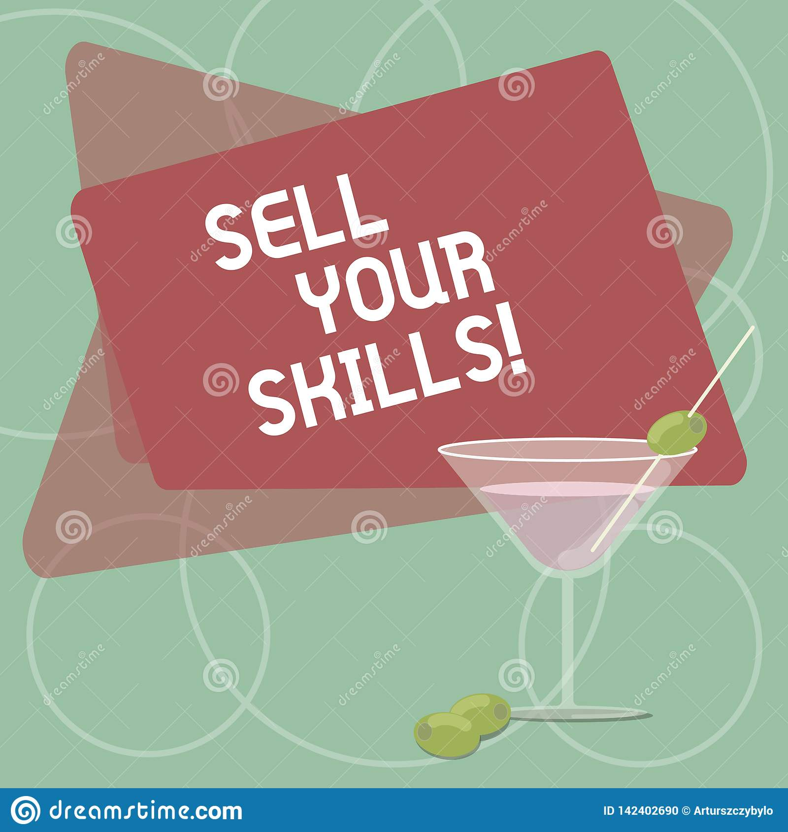 Word writing text Sell Your Skills. Business concept for make your ability to do something well or expertise shine