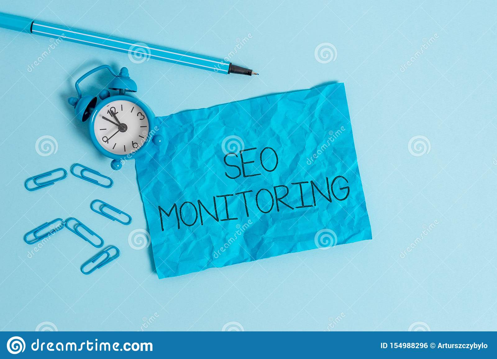 Word writing text Seo Monitoring. Business concept for Tracking the progress of strategy made in the platform Metal