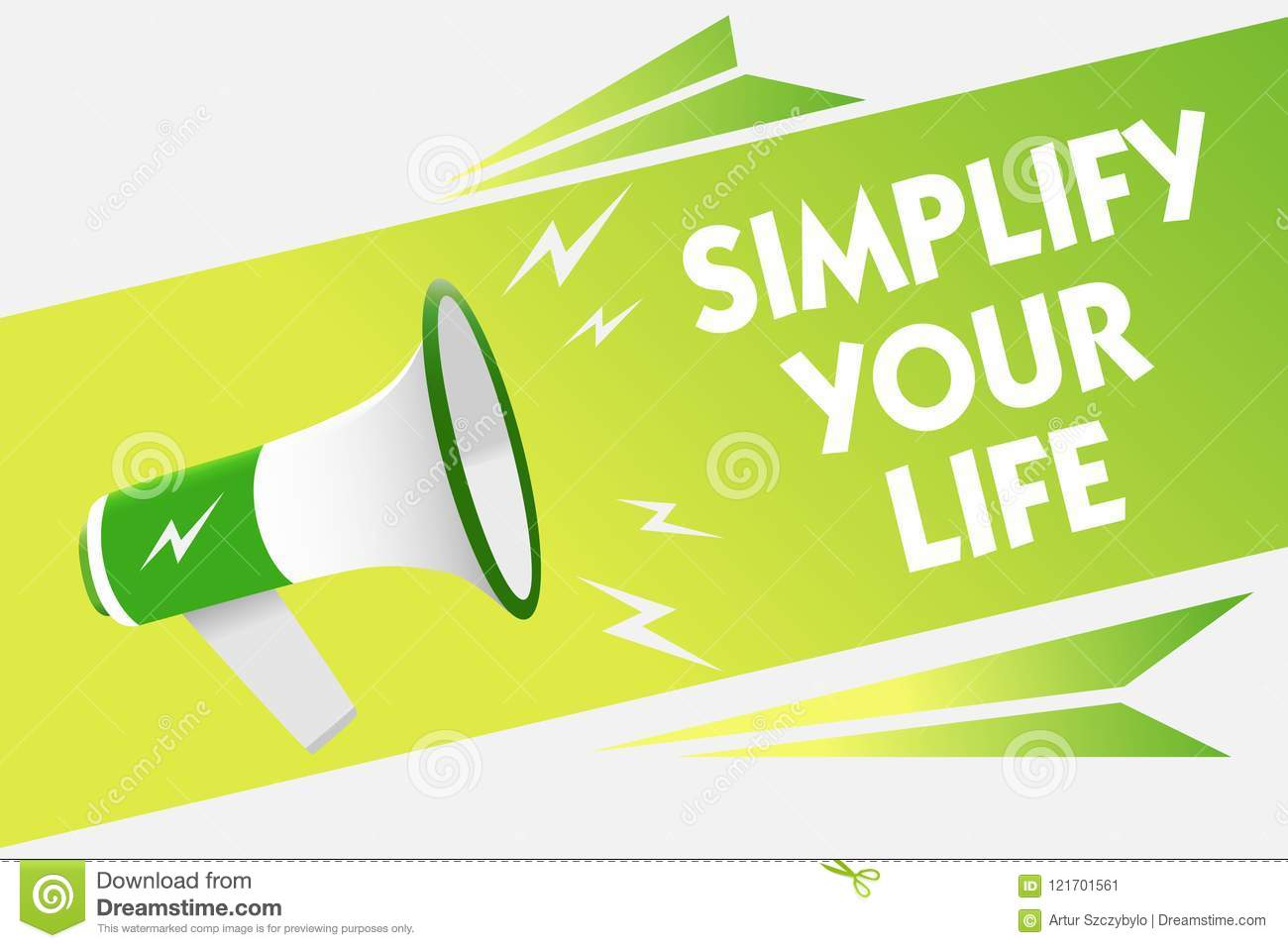 word writing text simplify your life business concept for manage