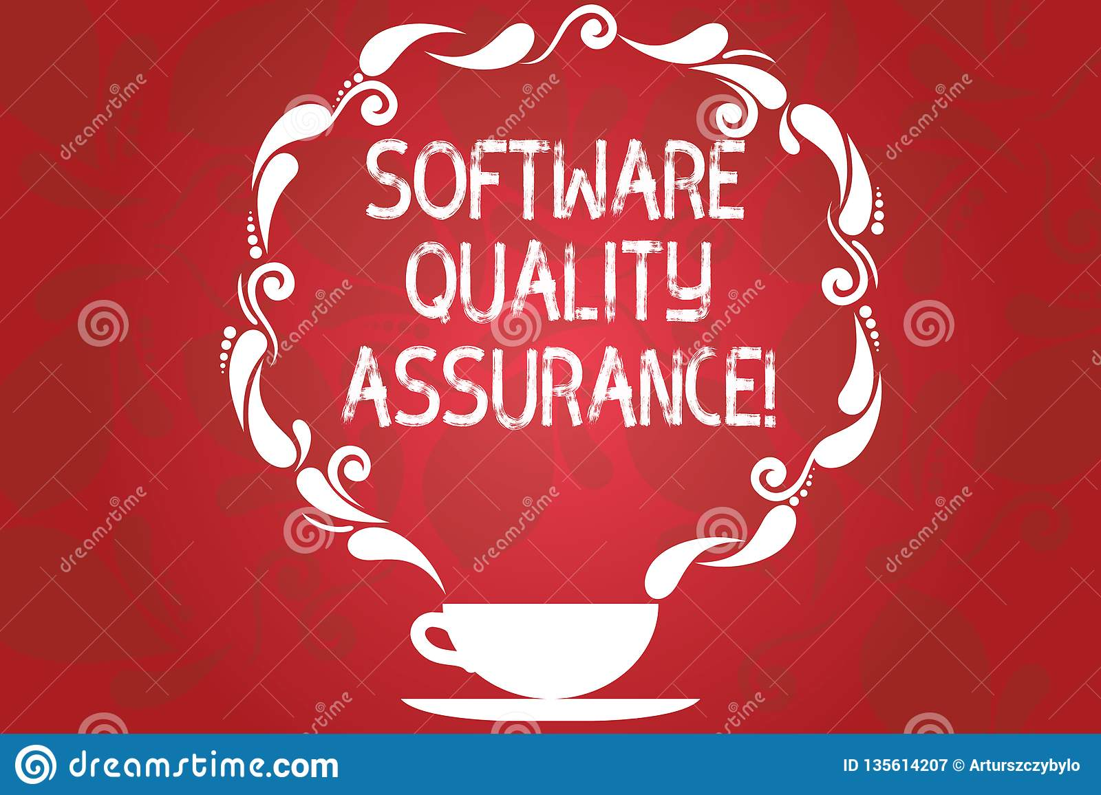 Word Writing Text Software Quality Assurance Business Concept For Ensuring Quality In Software Engineering Process Cup Stock Illustration Illustration Of Communication Organization 135614207