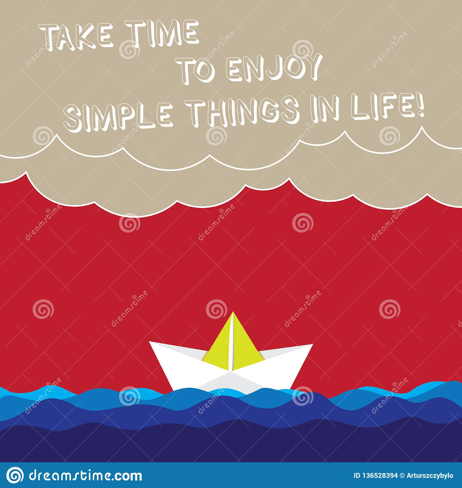 Word Writing Text Take Time To Enjoy Simple Things In Life Business