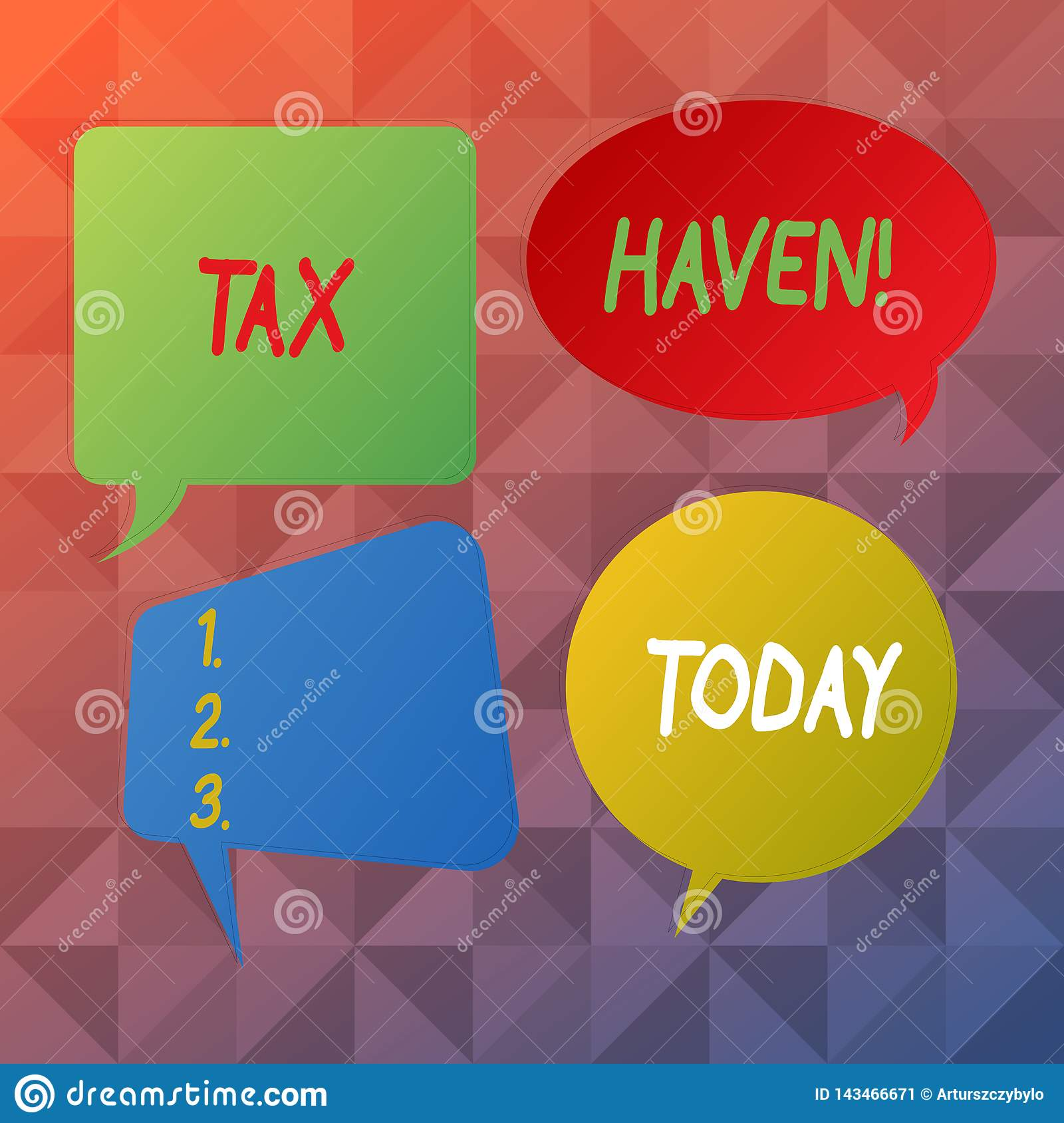 Word writing text Tax Haven. Business concept for country or independent area where taxes are levied at low rate Blank