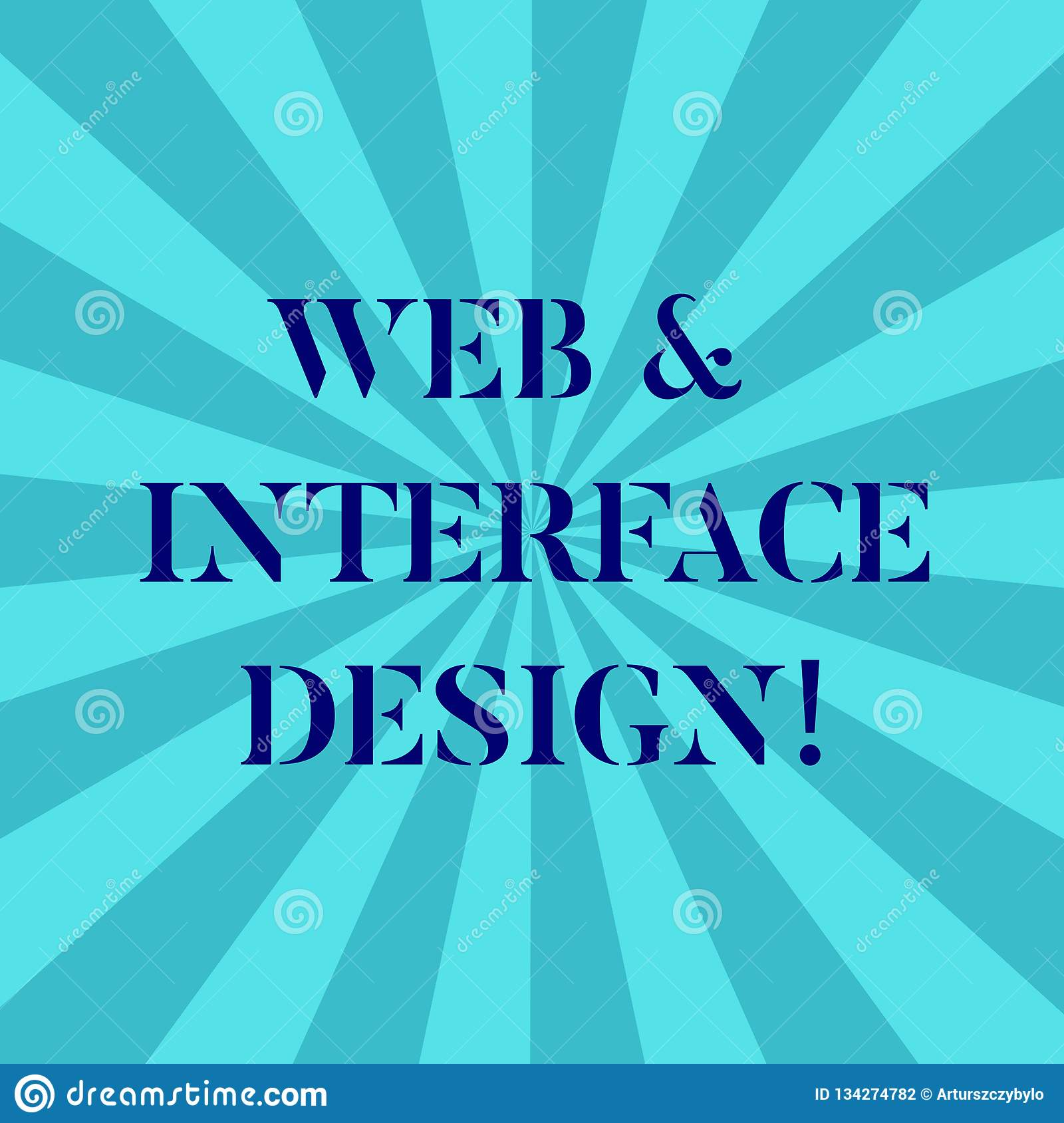 Word Writing Text Web And Interface Design  Business Concept