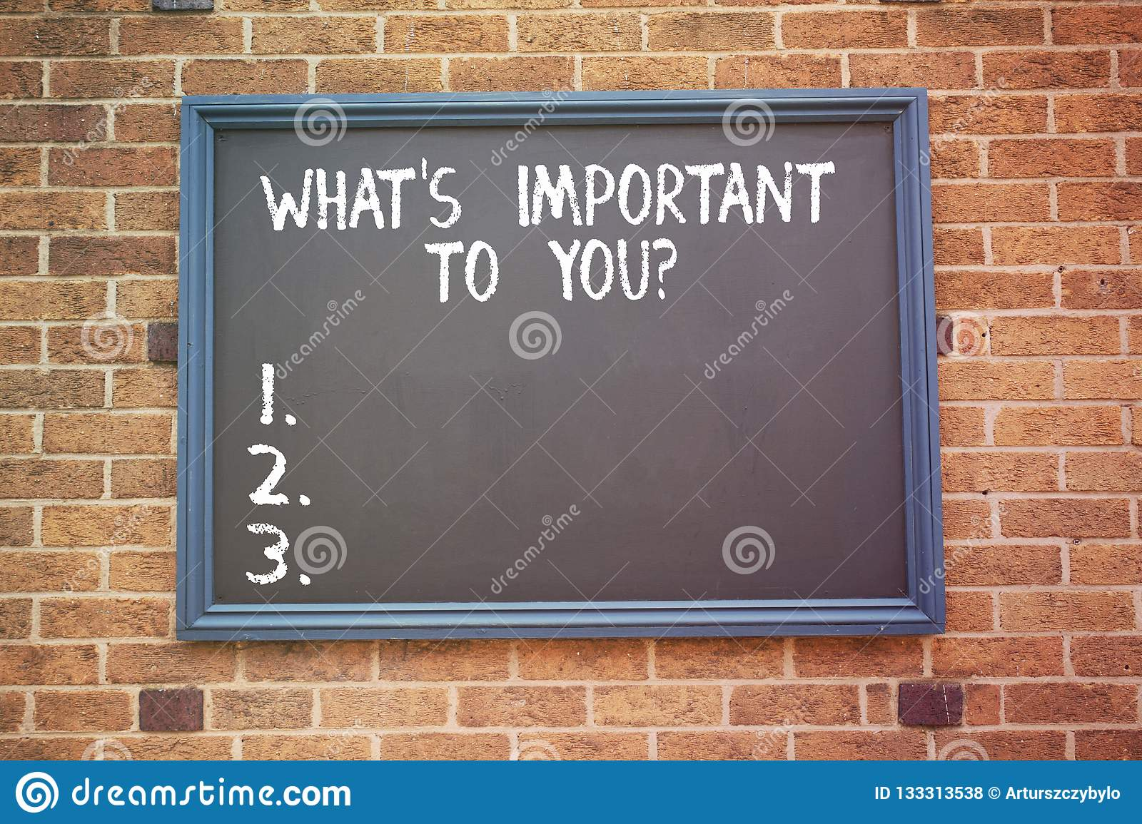 Word writing text What S Is Important To Youquestion. Business concept for Tell us your priorities goals objectives.
