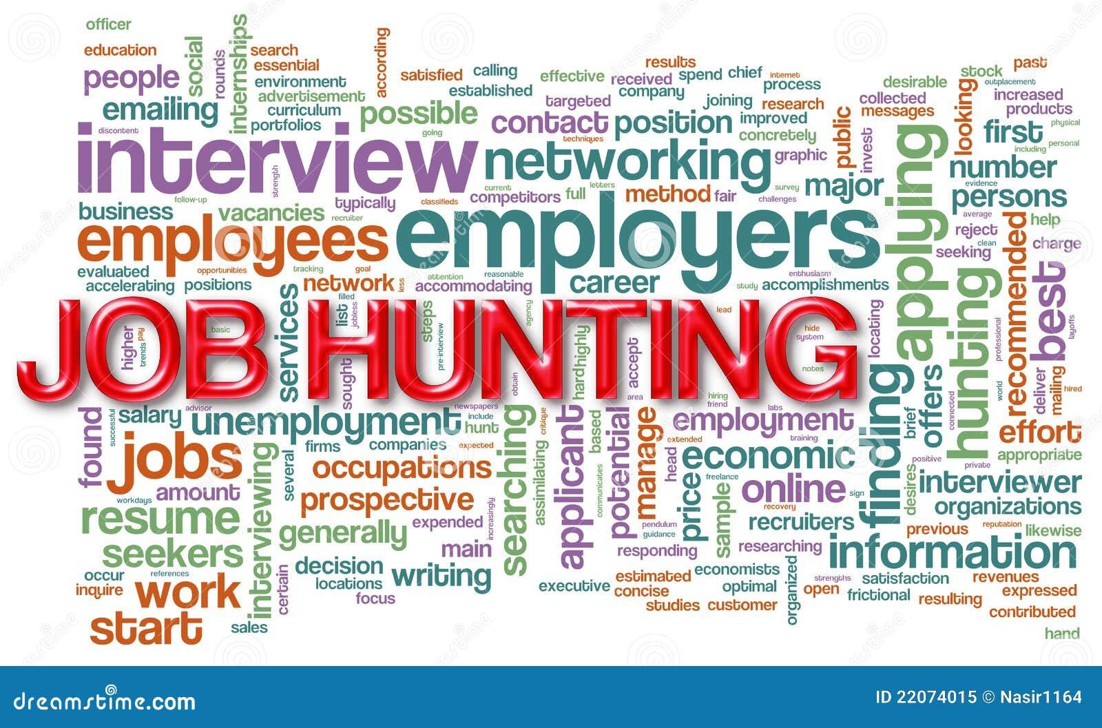 Wordcloud da caça de trabalho