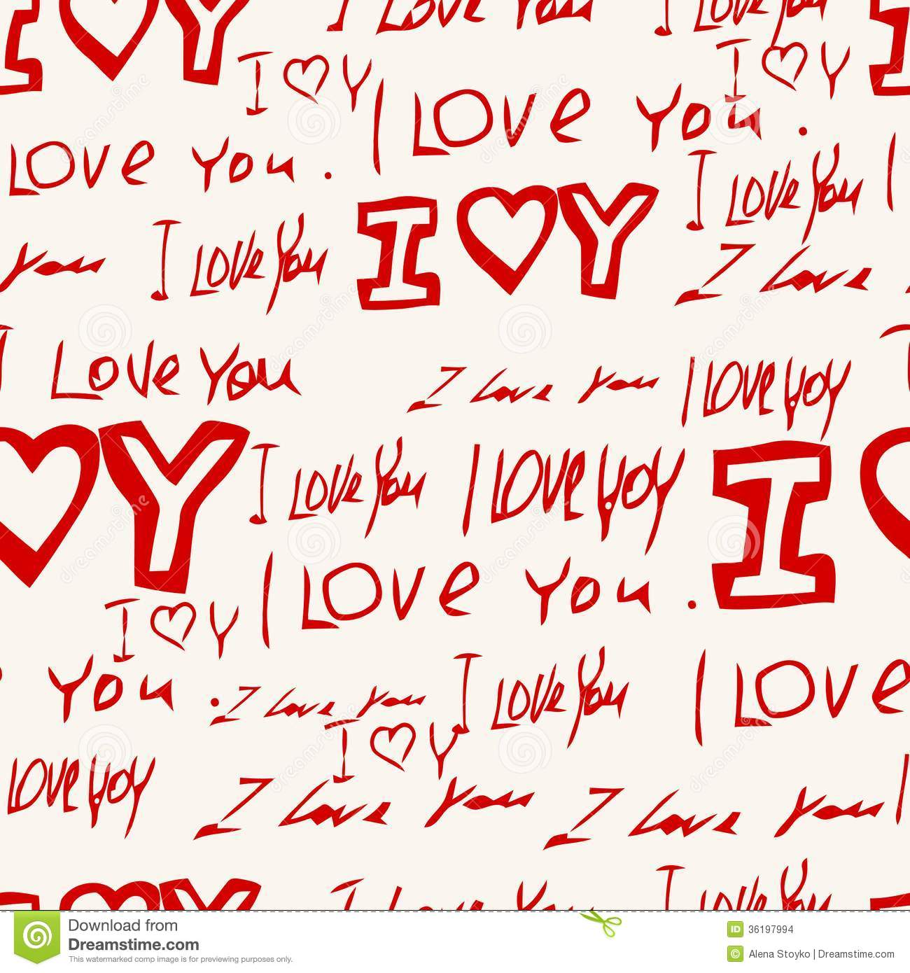 Words I Love You On Pi...