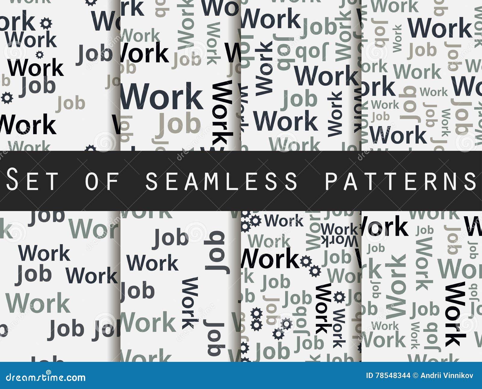 Pattern Words Unique Decorating