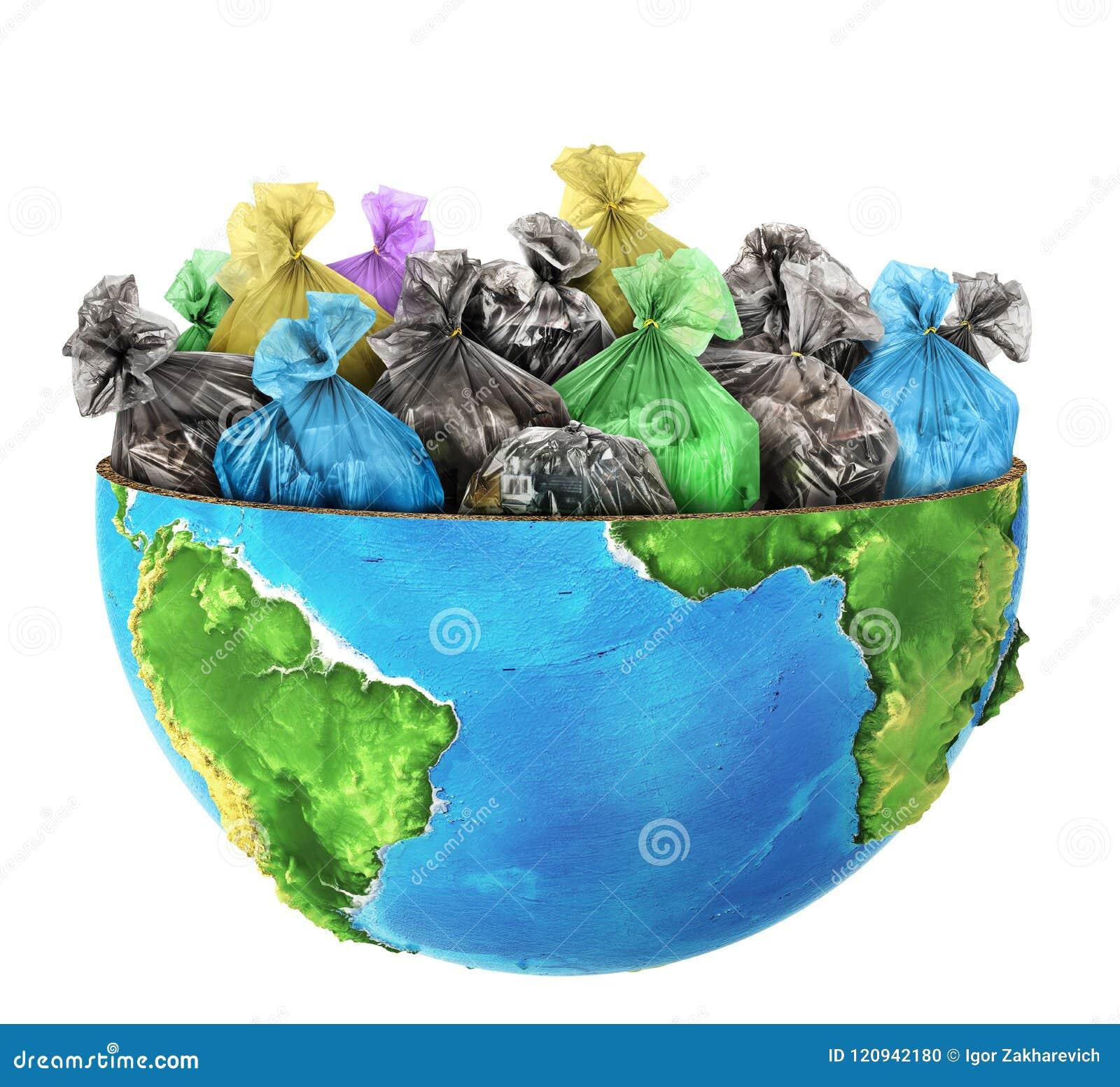 Wordt de helft van planeet gevuld met geep