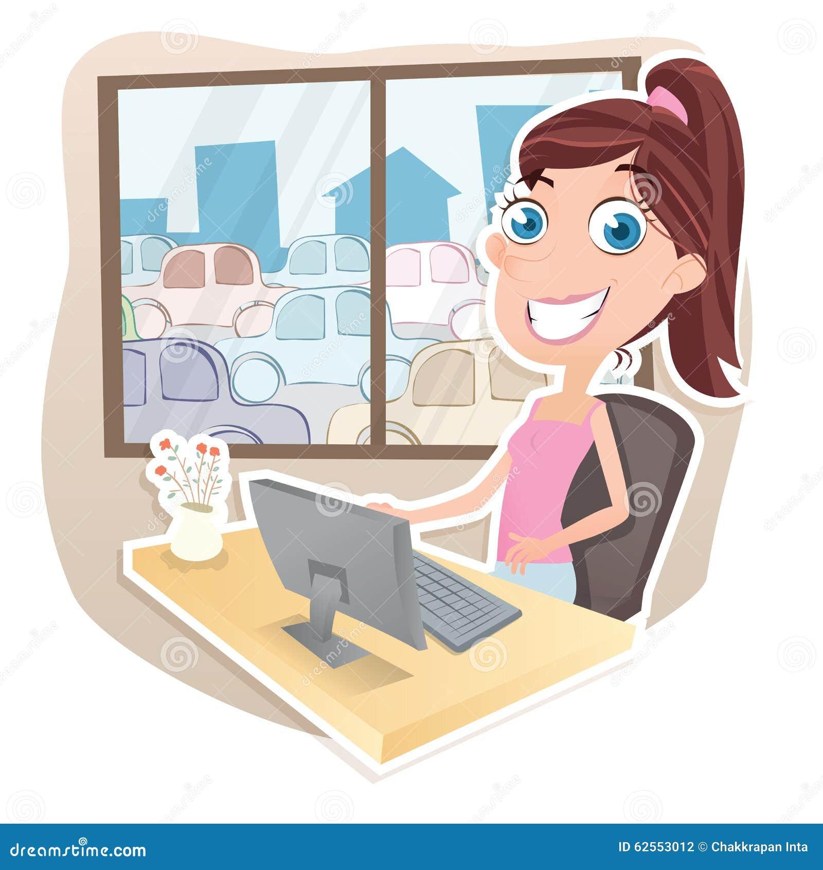 work-home-cartoon-girl-working-computer-her-62553012.jpg