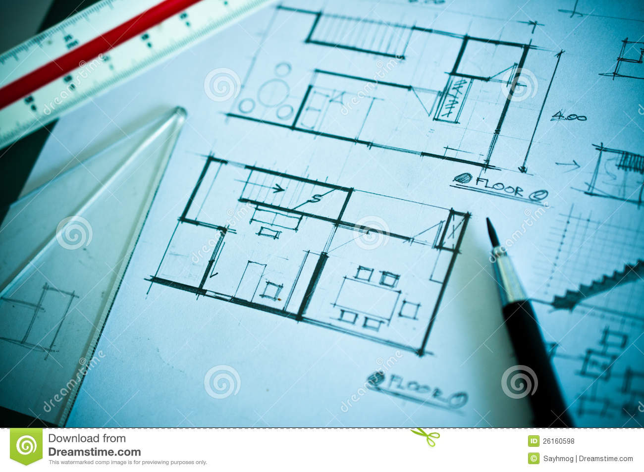 Work of interior design concept royalty free stock photos for Interior design concept