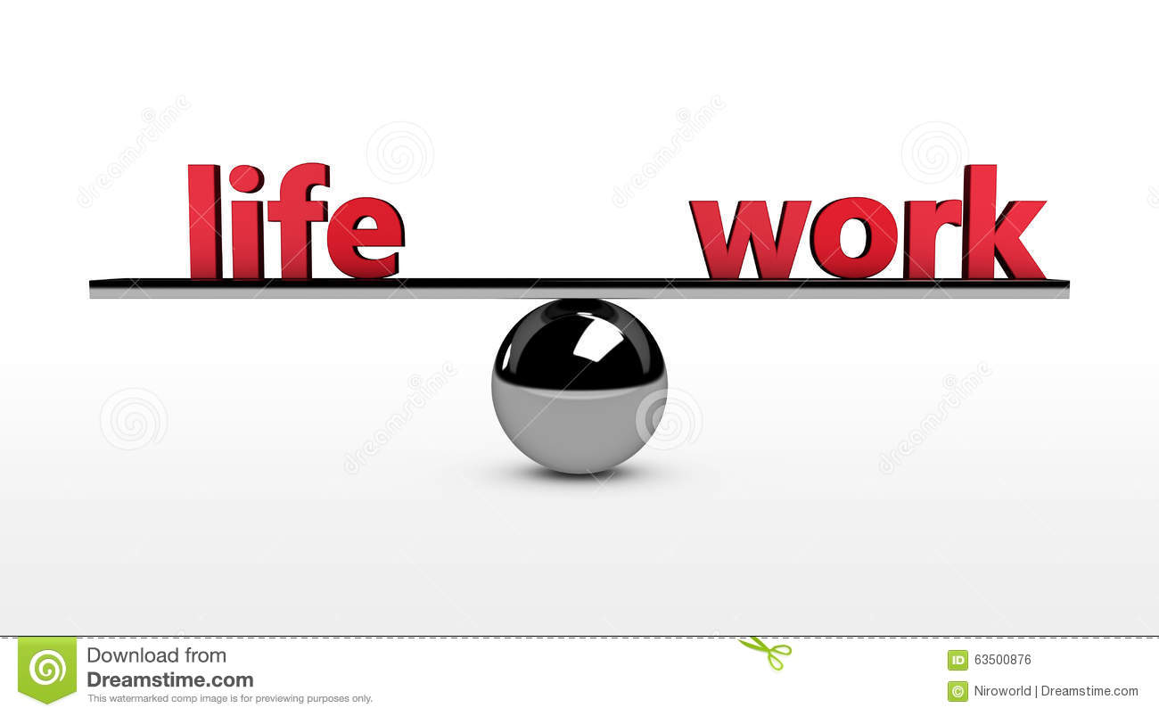 the concept of work life balance The emergence of mobility, 24/7connectivity and globalized business has made the concept of a 'work-life balance' obsolete ironically, technology -- often seen as the culprit -- can also.