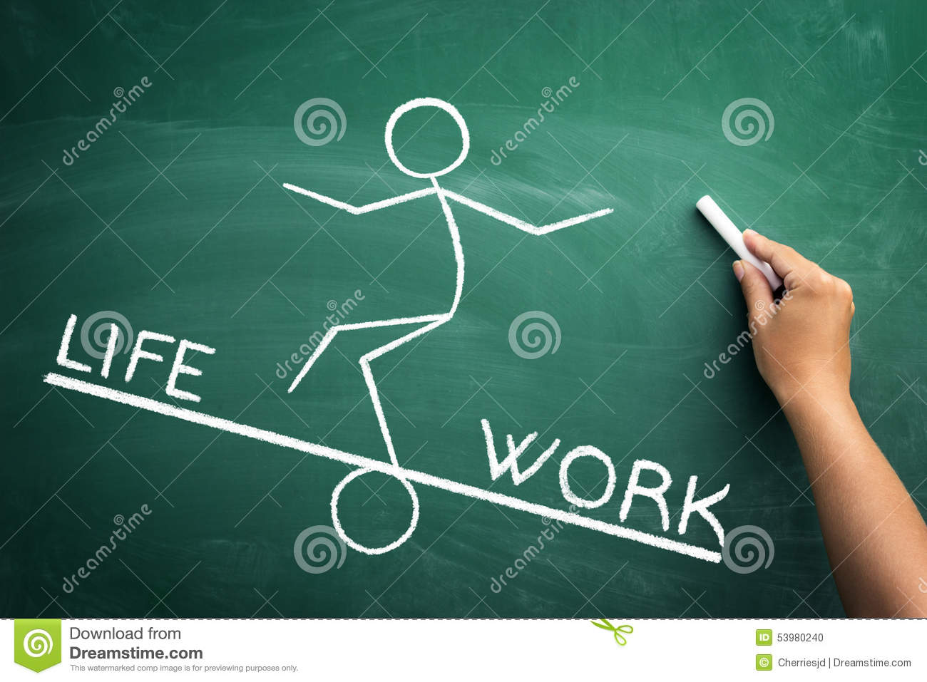 the concept of work life balance The standard concept of work-life balance is often seen as a zero-sum game,  where work and life are completely separate domains that are.