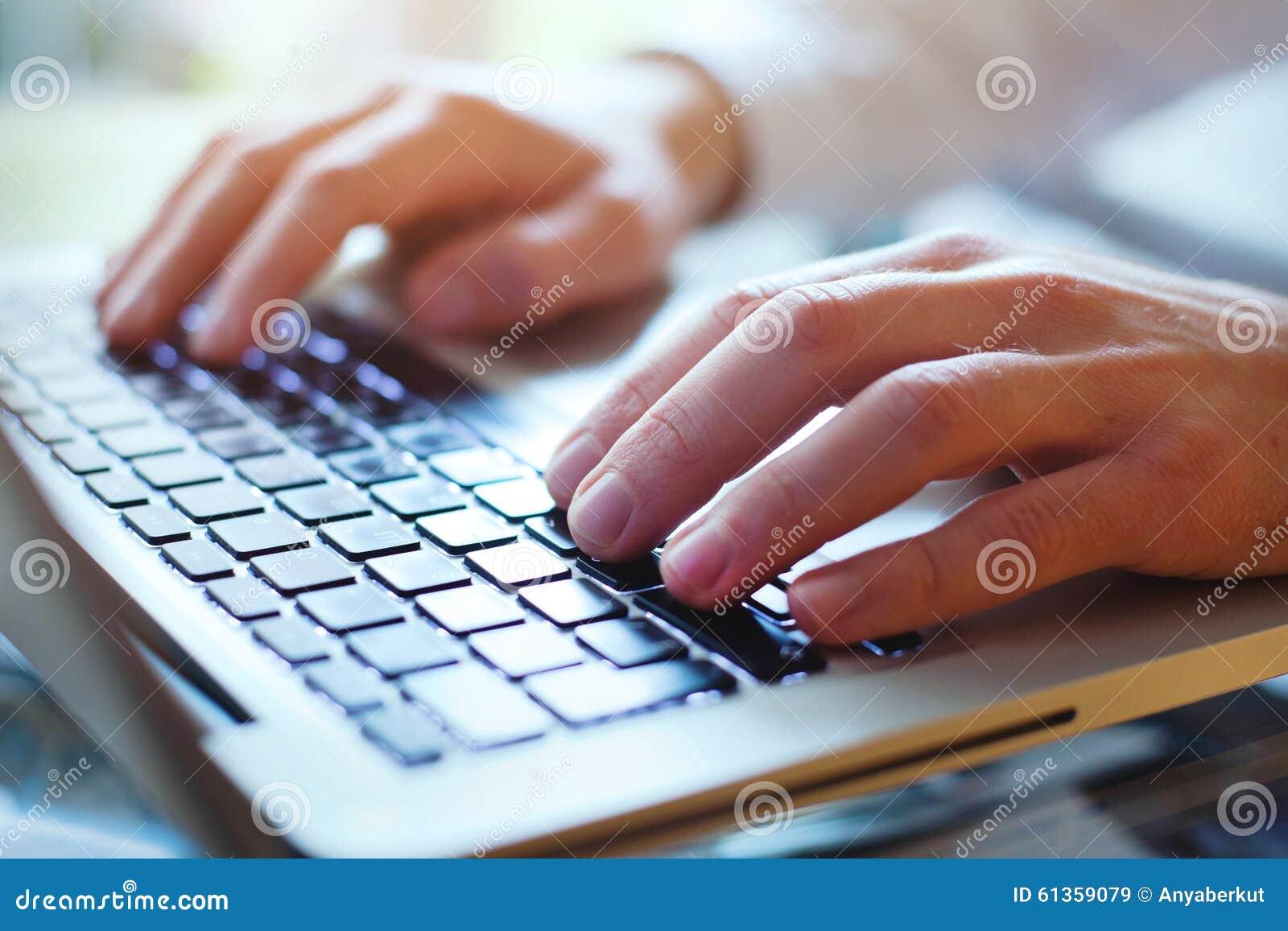 Work online concept