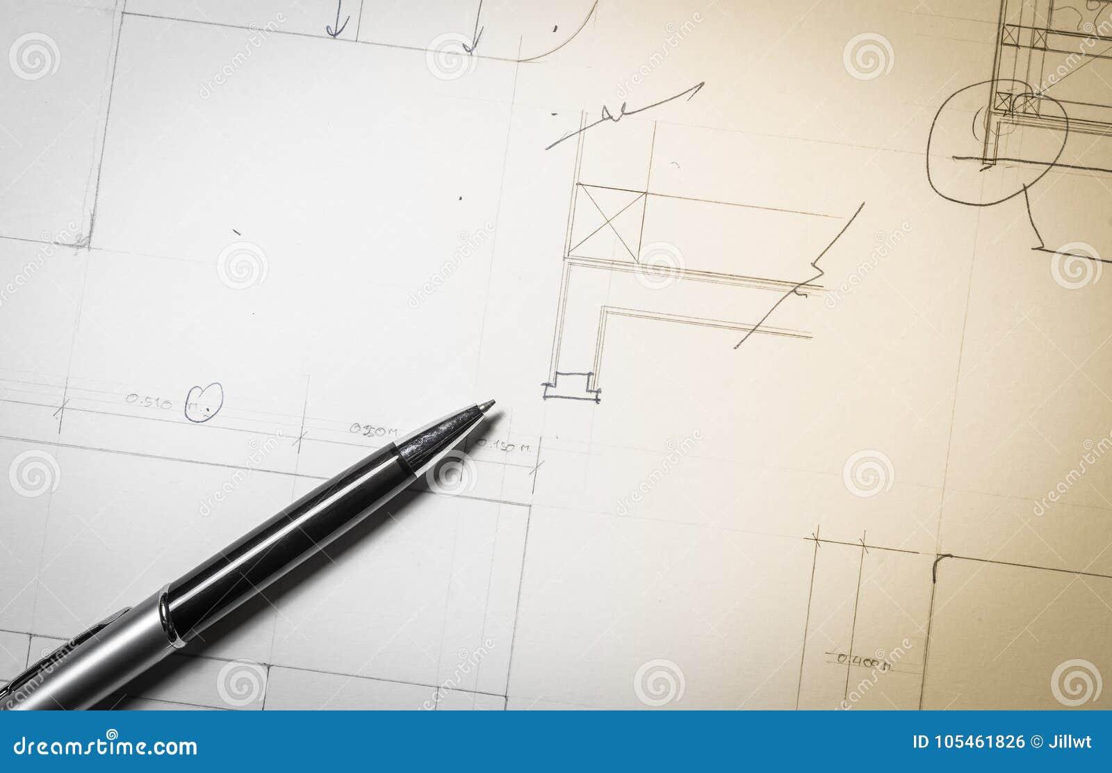 Work plan stock photo  Image of texture, tool, draw - 105461826