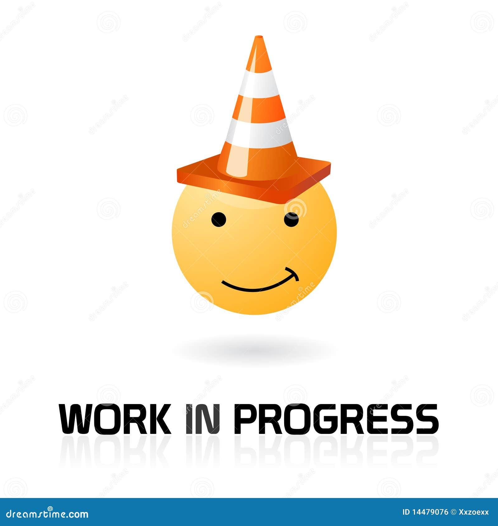 Work in progress funny symbol stock vector illustration of work in progress funny symbol biocorpaavc Images