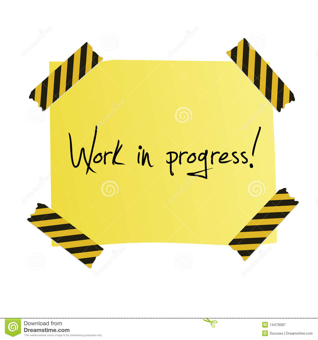 work in progress post it royalty free stock photography street sign clip art images street sign clip art images