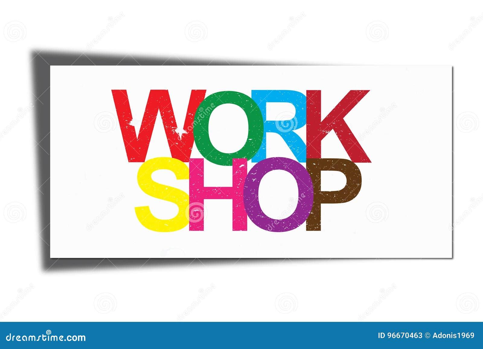 Work shop illustration