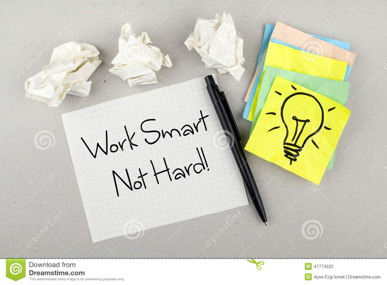 How to Work Smart, Not Hard