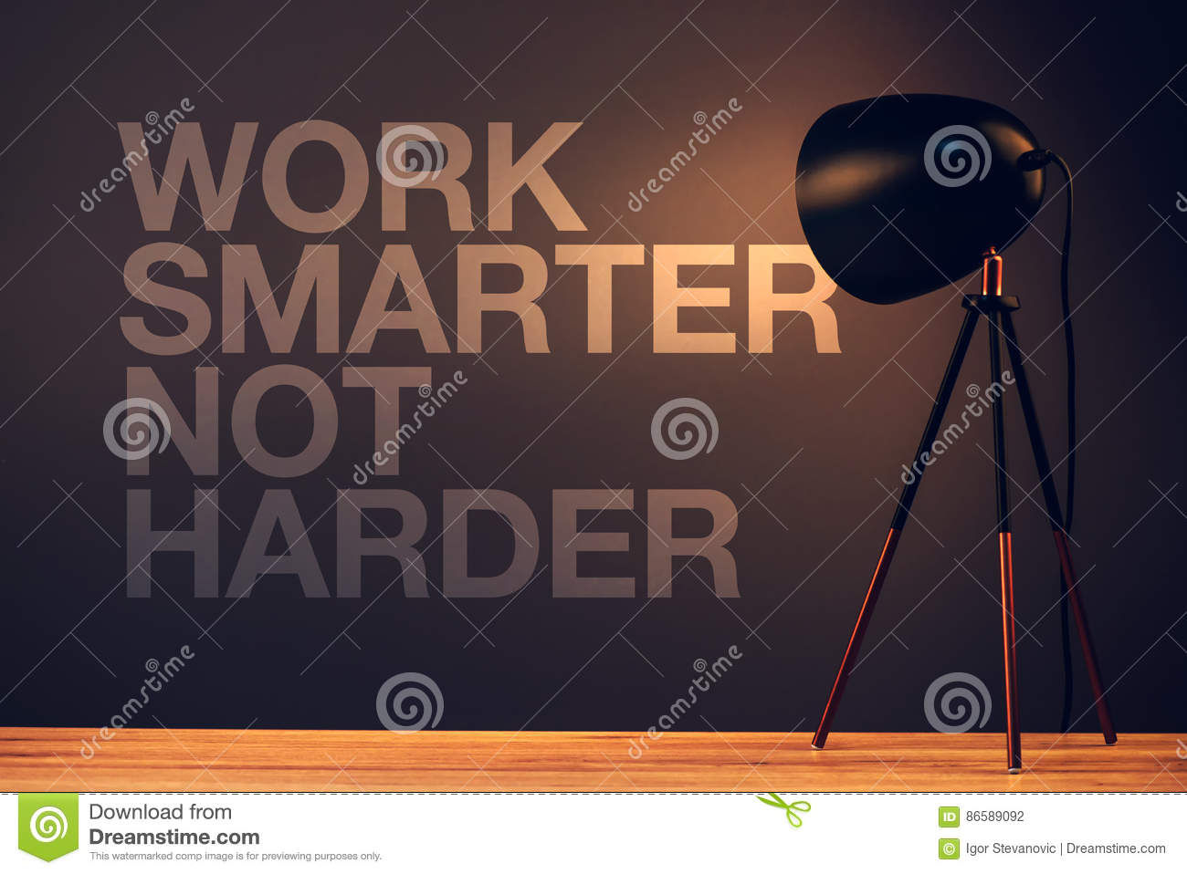 smarter not harder quote
