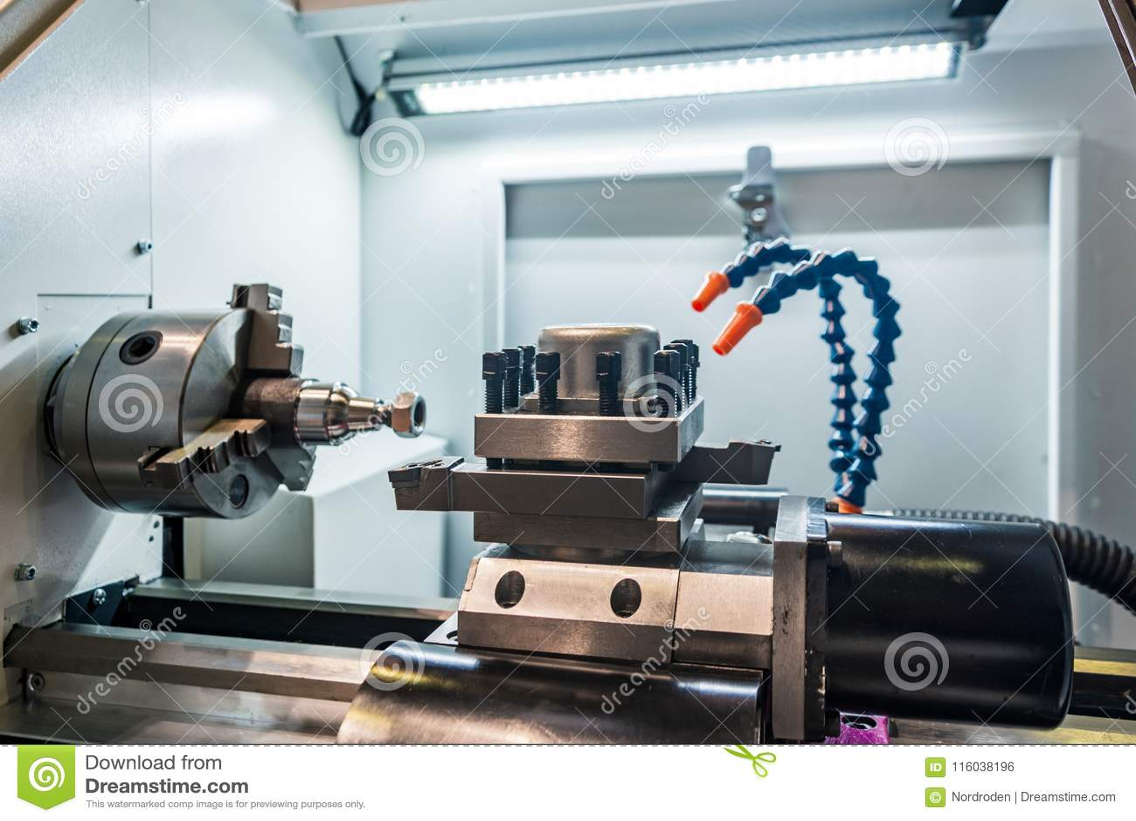 Space manufacture metal-cutting machines