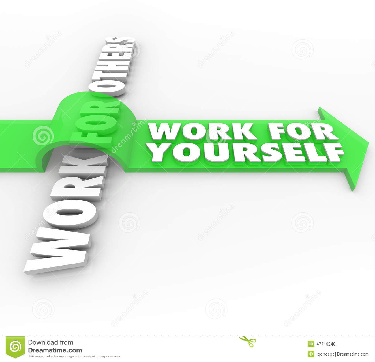 Work For Yourself Vs Others Self Employment Launch Own ...