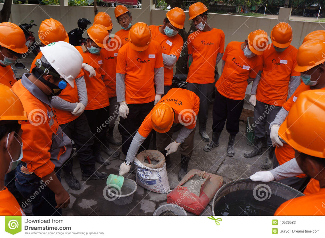 Worker editorial stock photo  Image of training