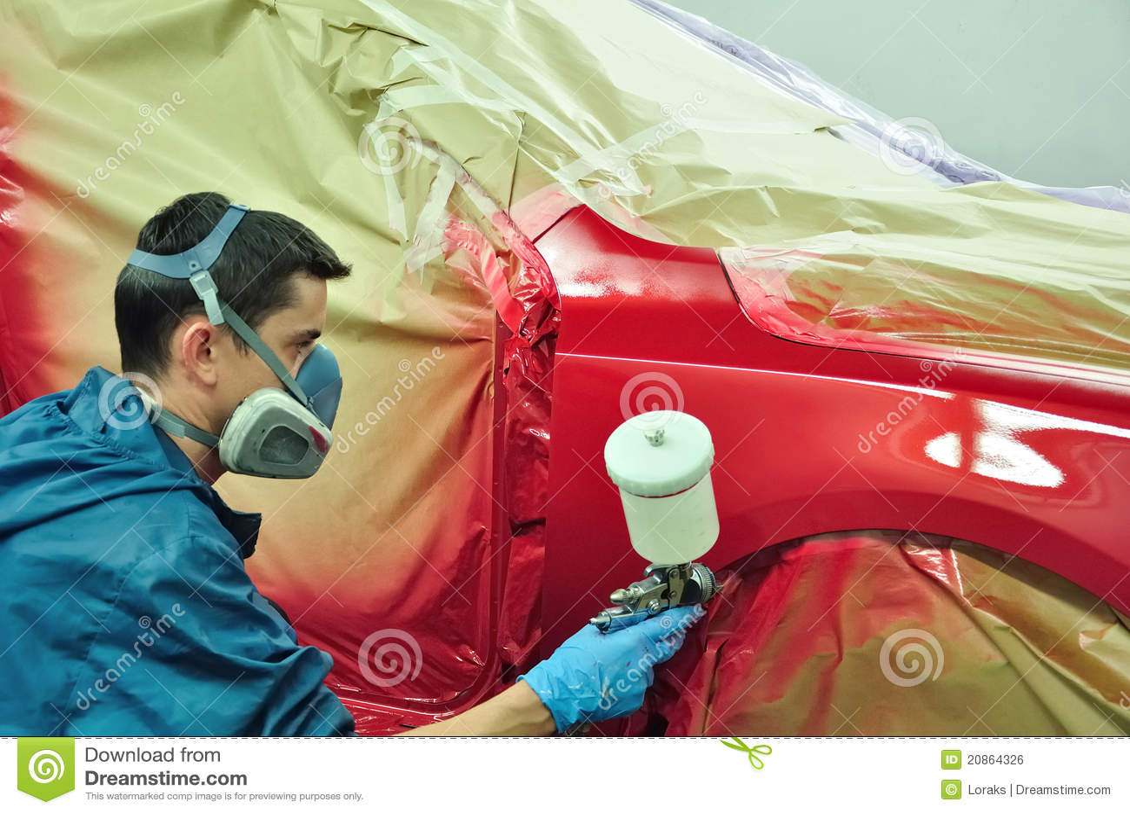 Видео покрасить авто своими руками фото