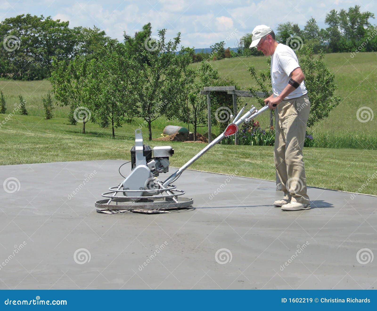 concrete smoothing machine