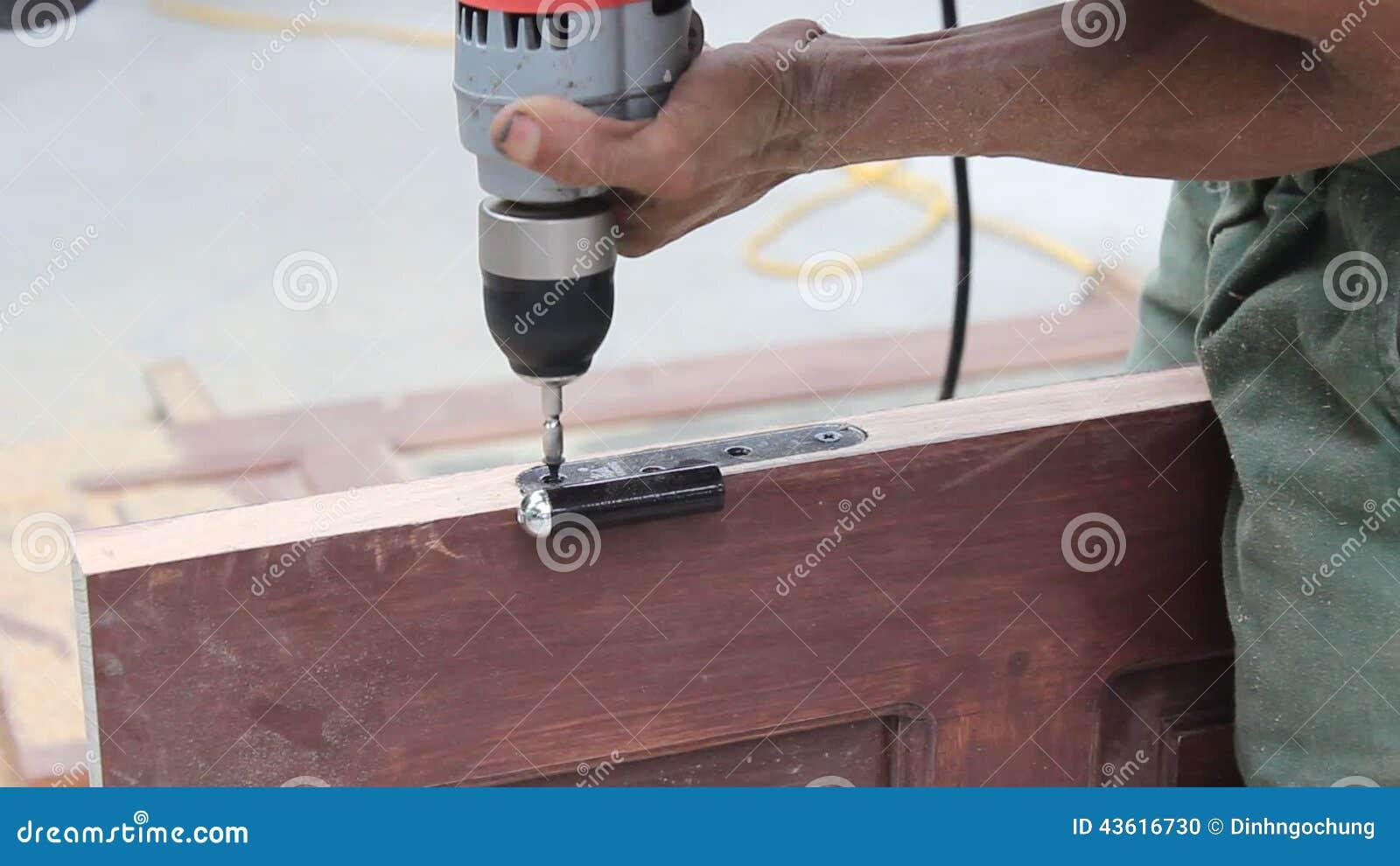 Worker Used Wood Planers Making Wood Door Stock Footage - Video 43616730 & Worker Used Wood Planers Making Wood Door Stock Footage - Video ... pezcame.com