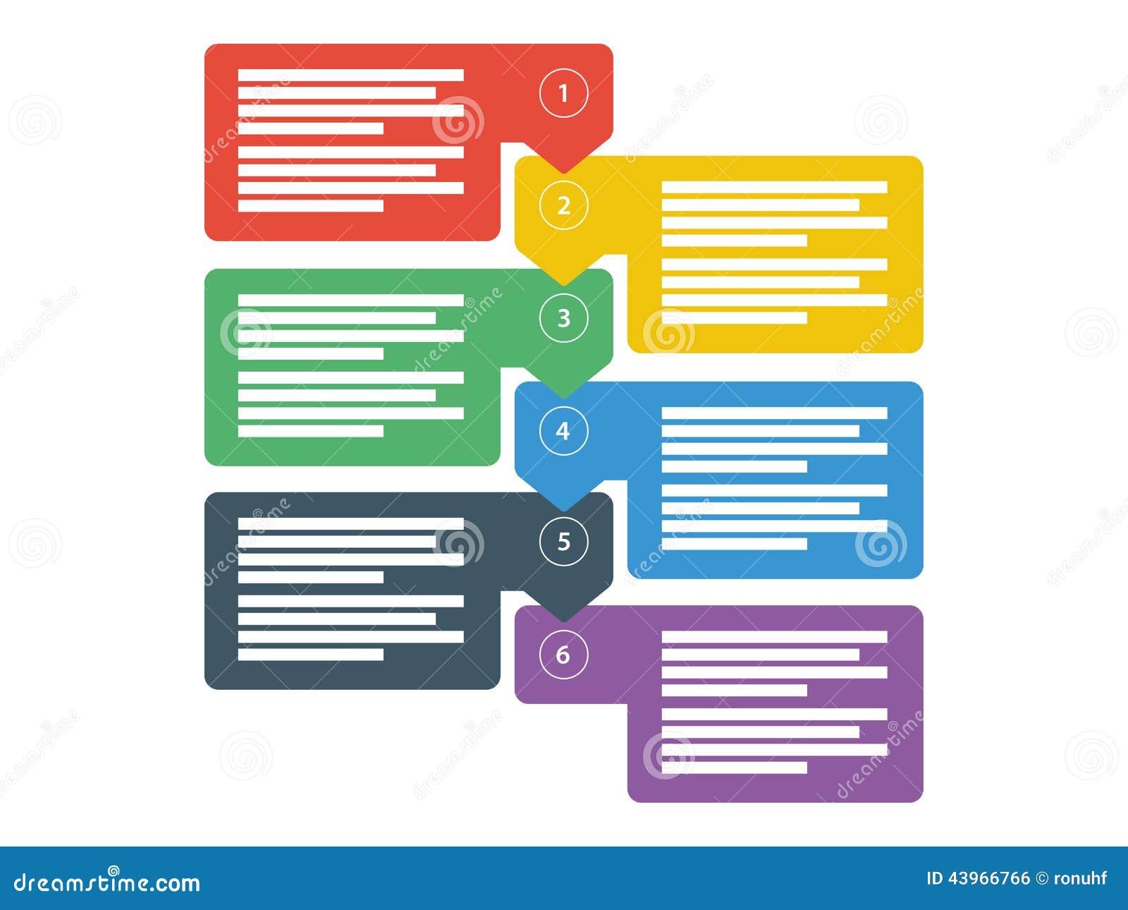 workflow business data presentation diagram infographic elements