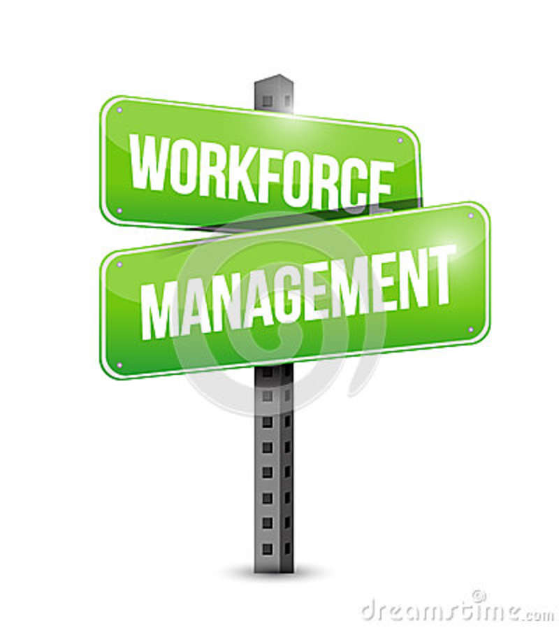 Workforce management signpost illustration design stock for Www workforcescheduling com jewelry tv