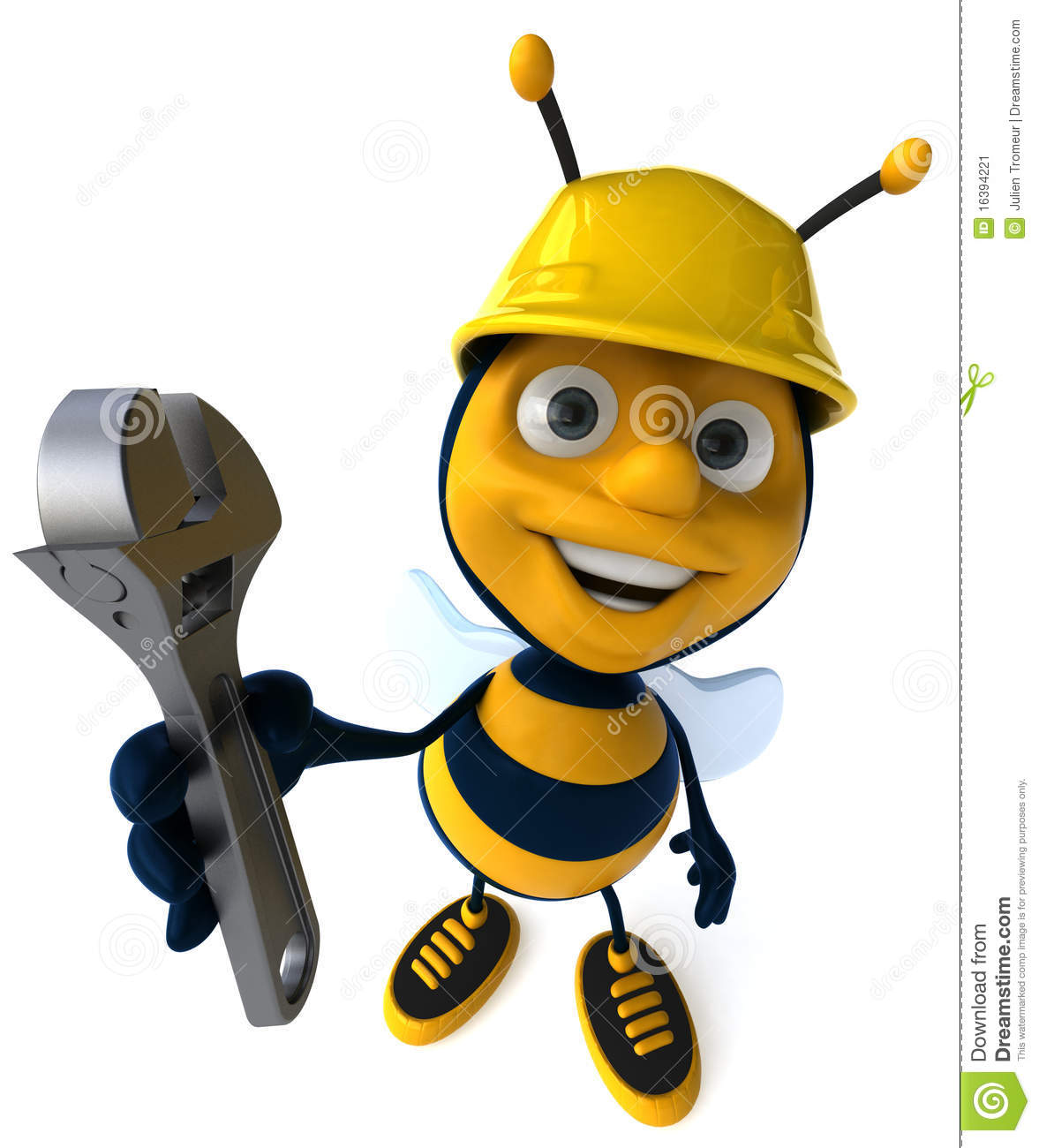 Working Bee Stock Image - Image: 16394221