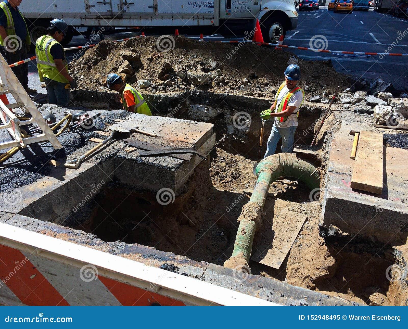 Working below the street in NYC -2