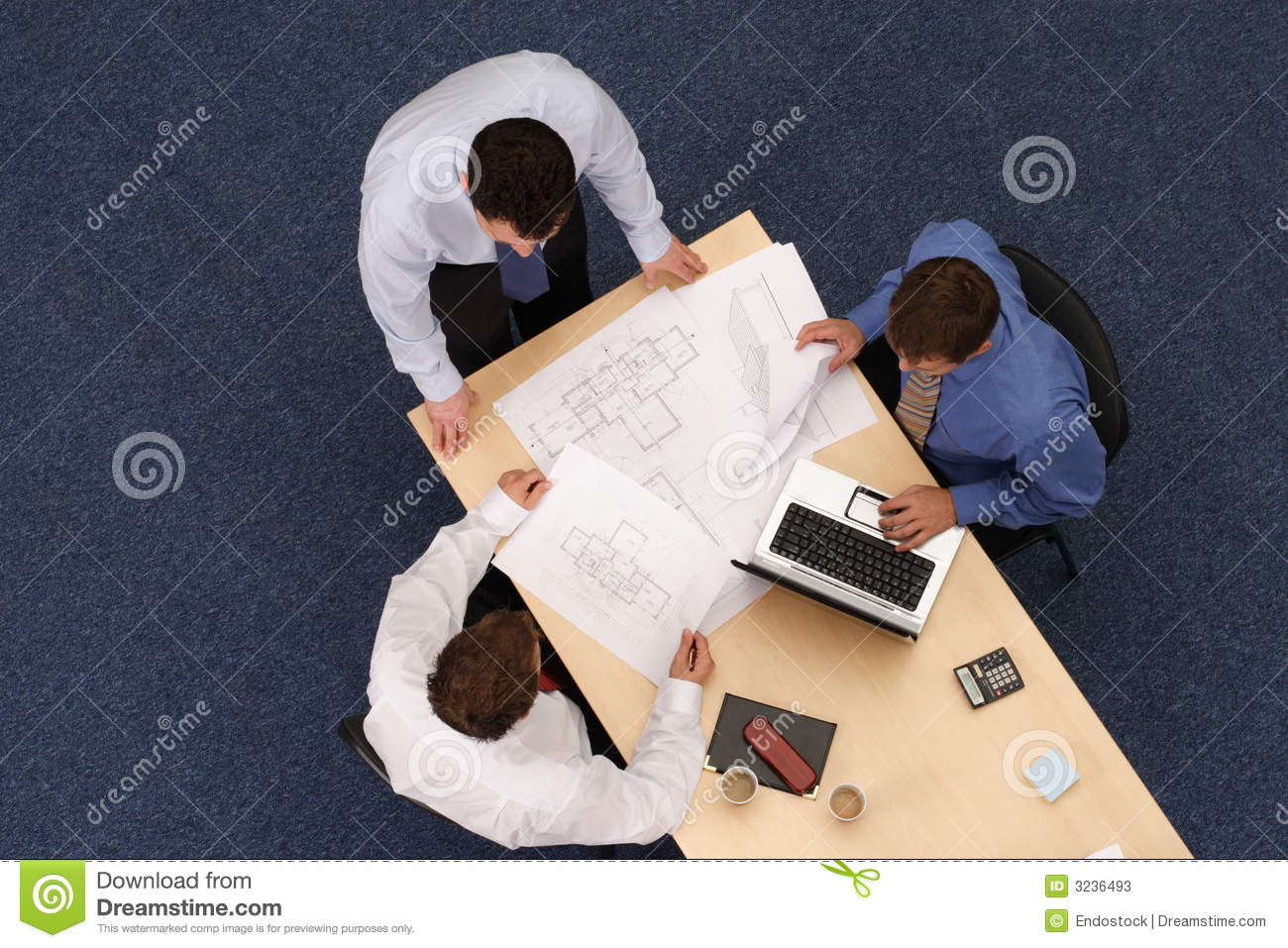 Working business people