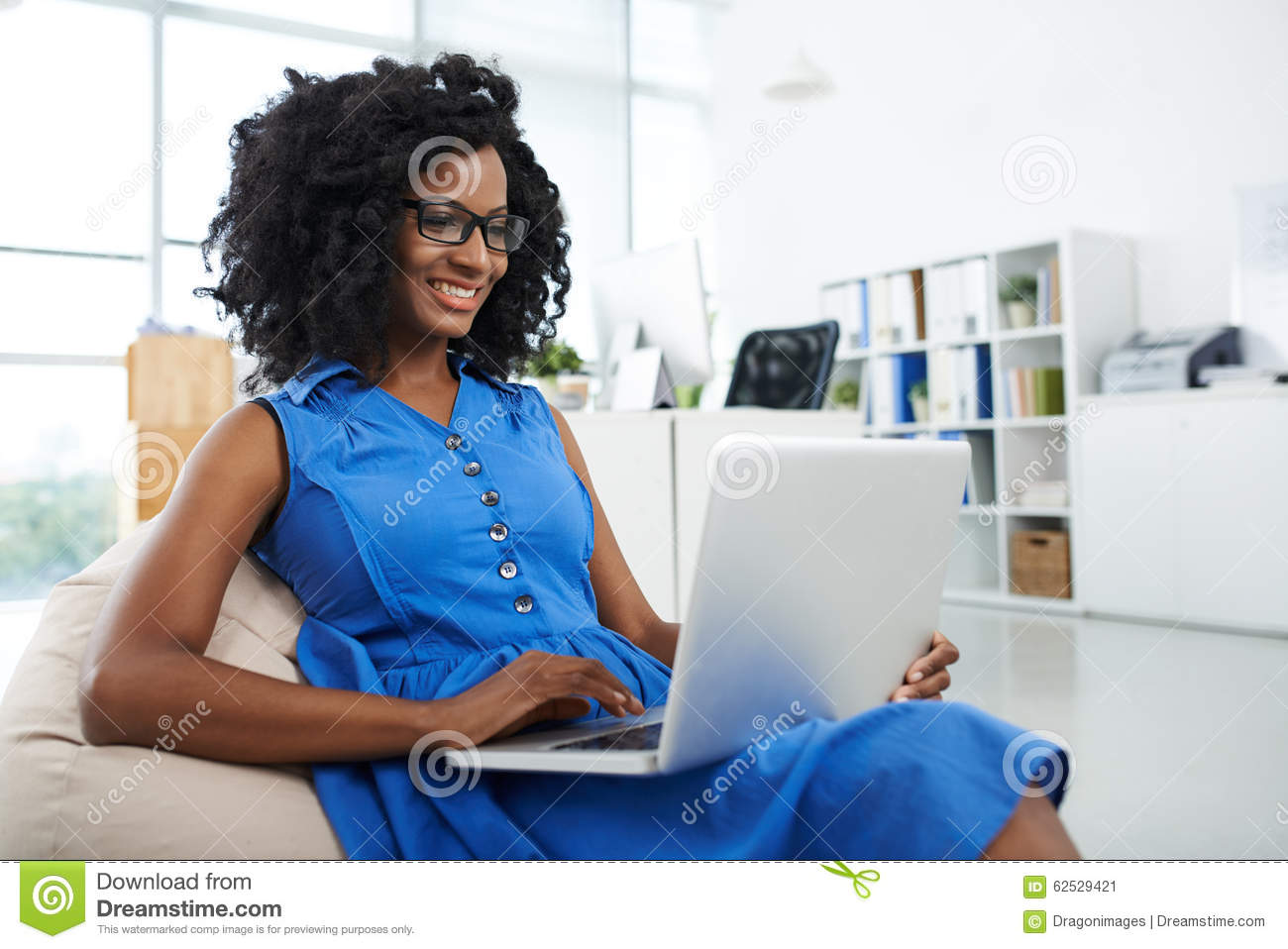 Working With Comfort Stock Image Image Of Consulting