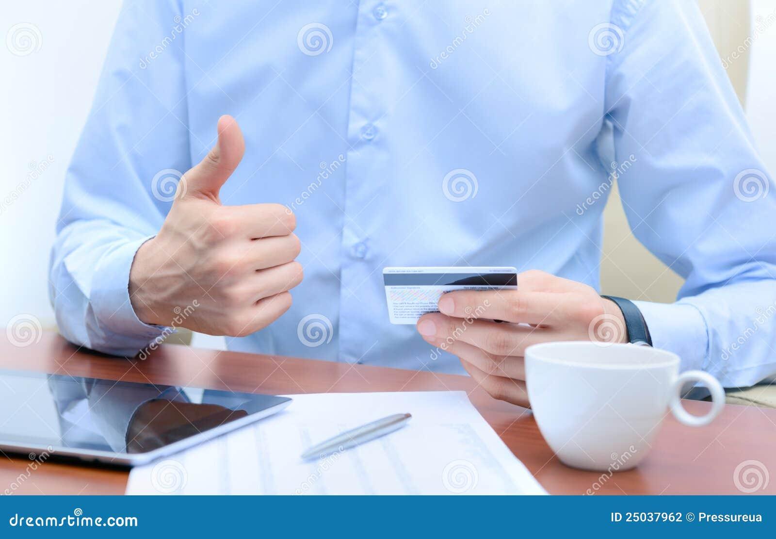Working för kortkrediteringsframgång