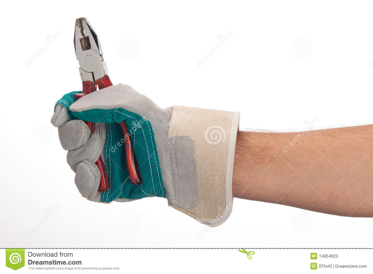 Working hands with