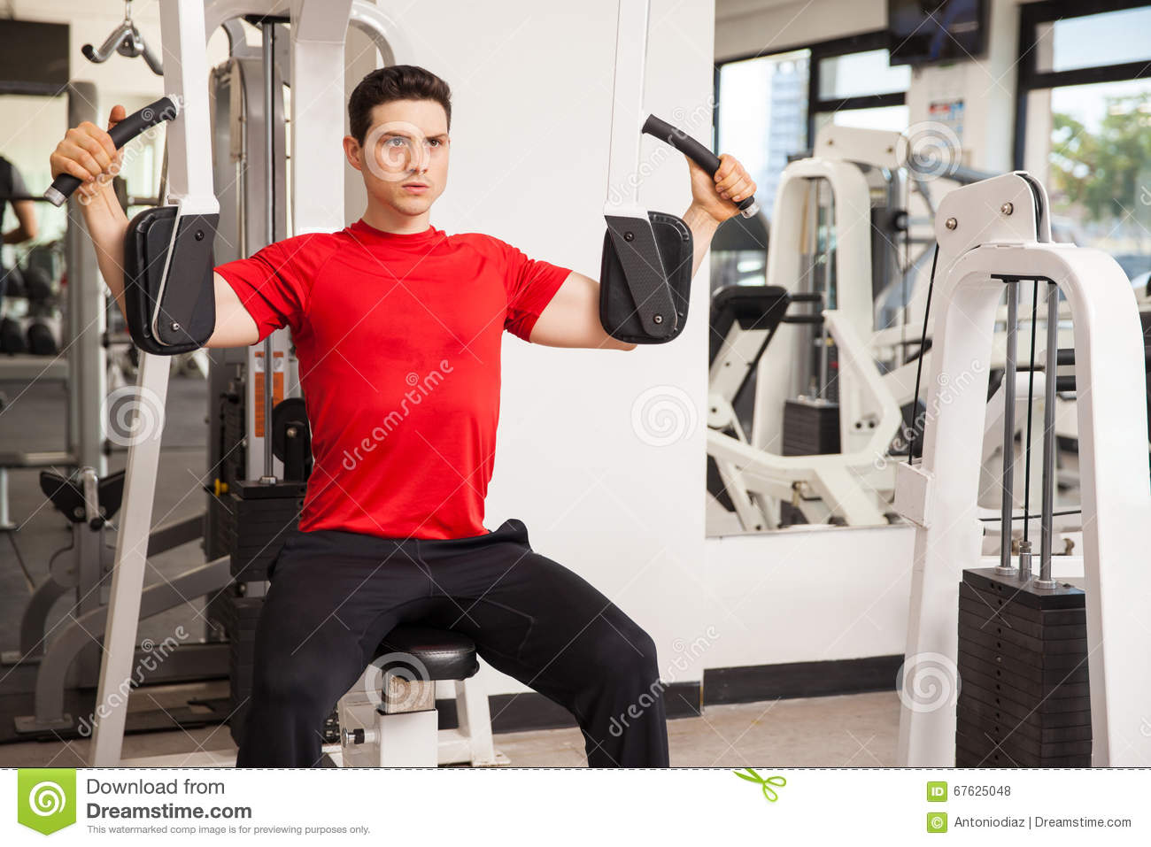 working out machine