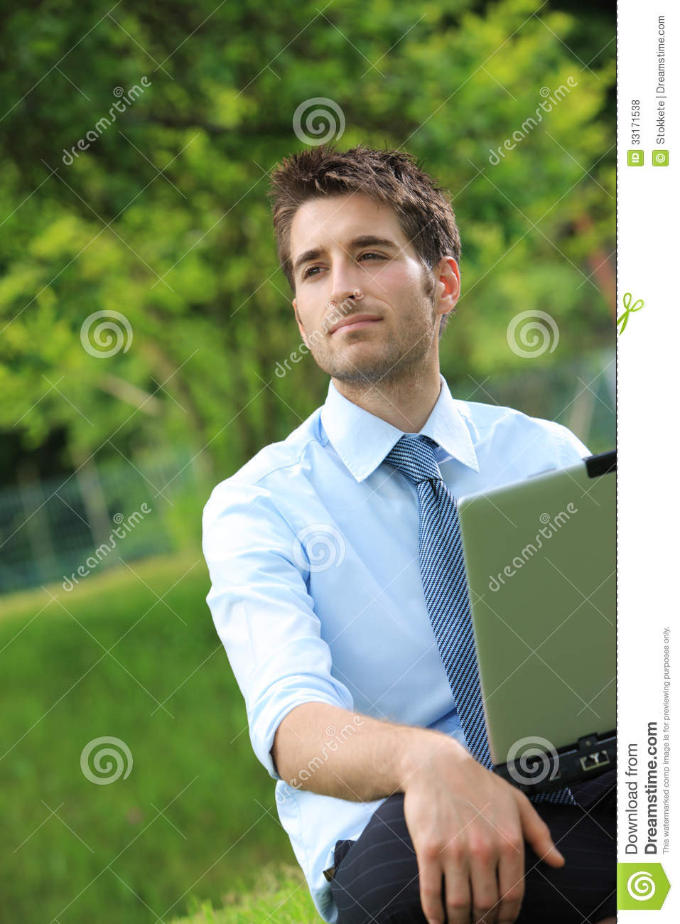 Working Outdoors Royalty Free Stock Photos - Image: 33171538