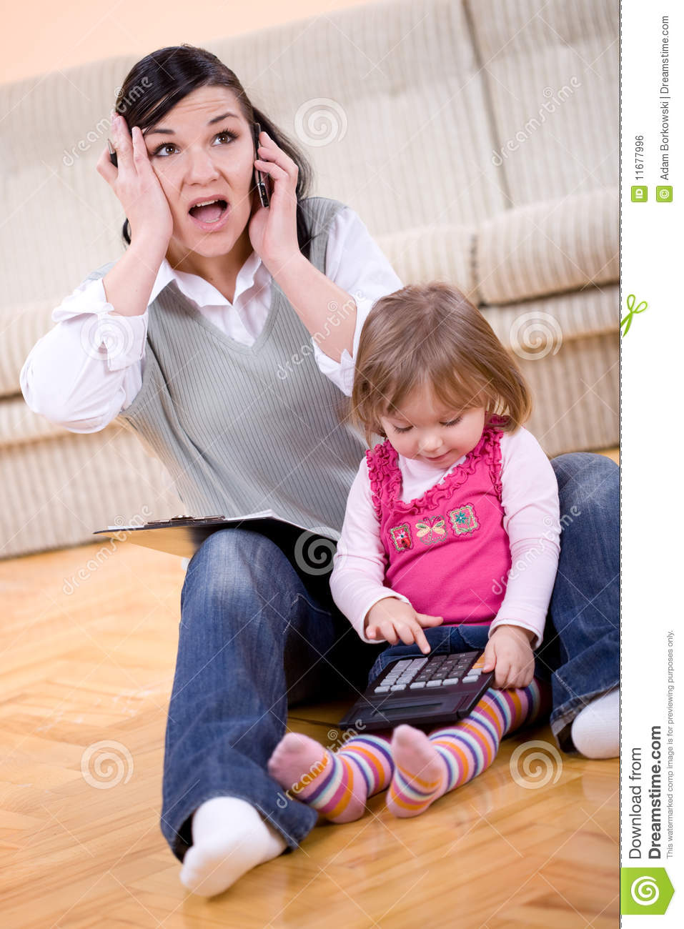 Working and parenting