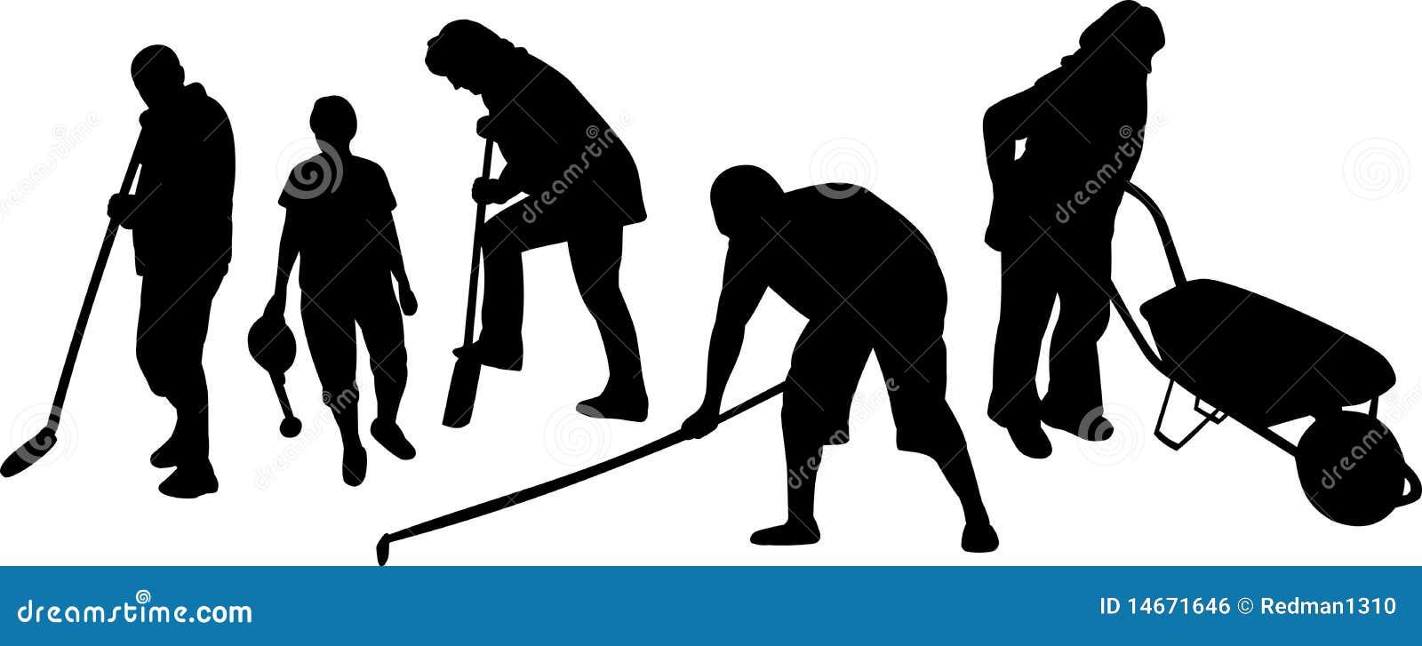Working people royalty free stock image image 14671646