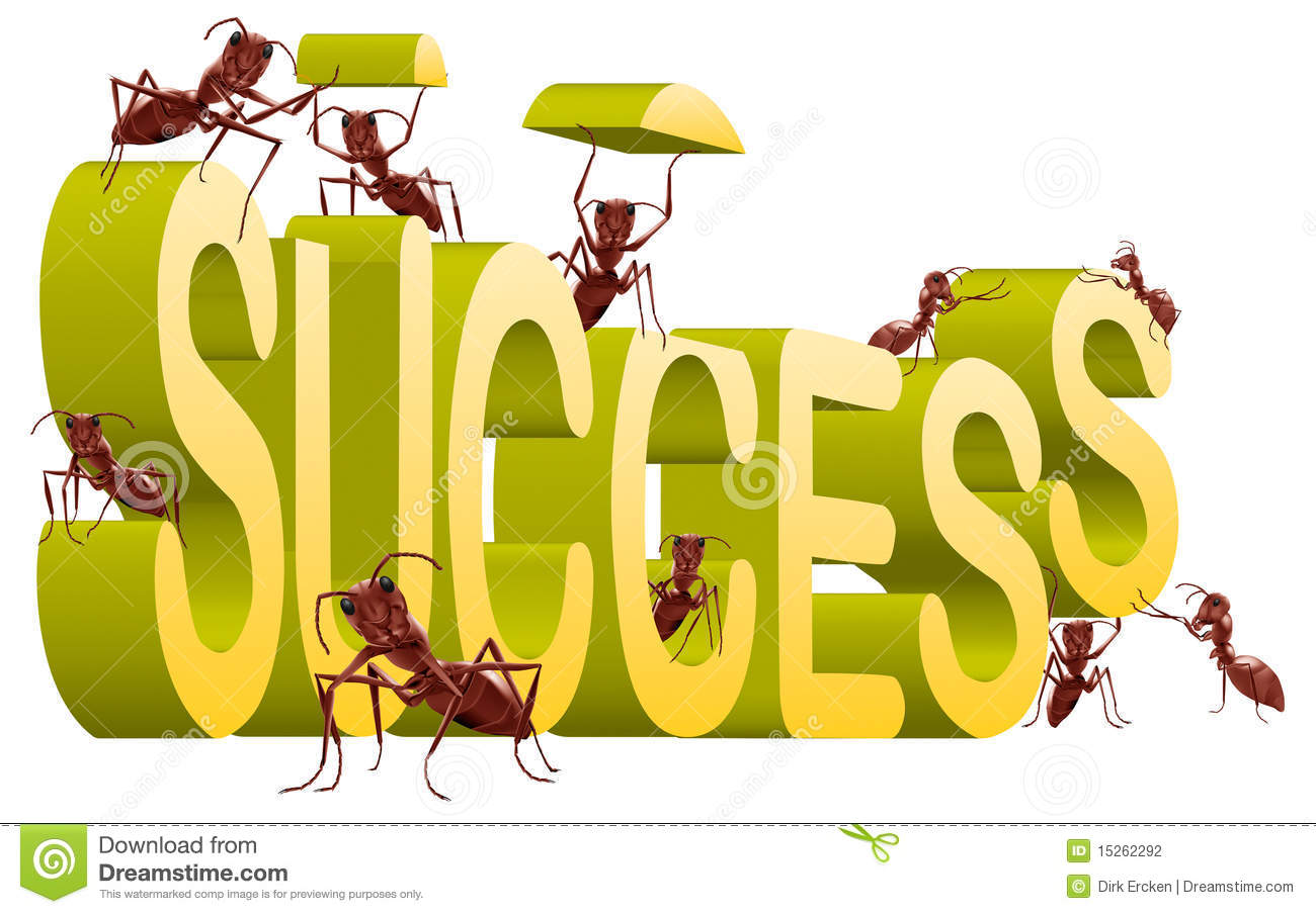 working on success building creating successful