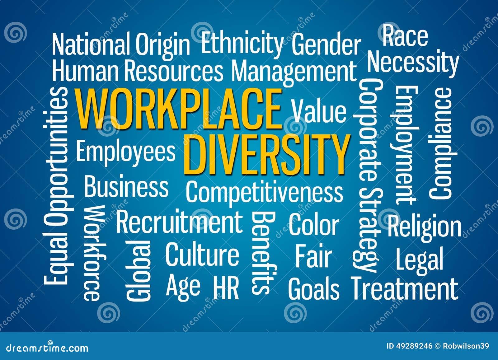 Workplace Diversity Stock Illustration - Image: 49289246