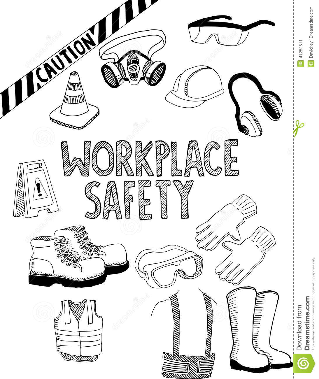 safety coloring contest pages - photo#11